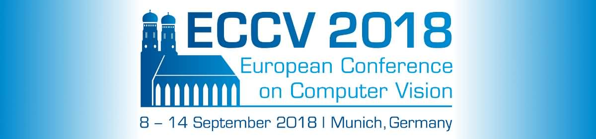 15th European Conference on Computer Vision (ECCV)
