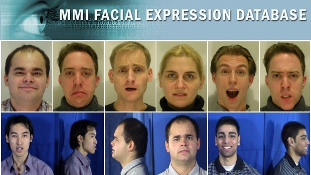 MMI Facial Expression Database