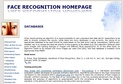 """face recognition essay Fag face biometric facial recognition modes of escaping the recognition-control of the face he has published writings in the """"five videos"""" essay."""